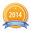 American College of Phlebology Bronze Abstract Award 2014 - 3rd Place International Rosette