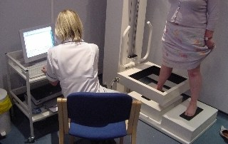 lymphoedema test using a Perometer