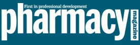 pharmacy magazine logo