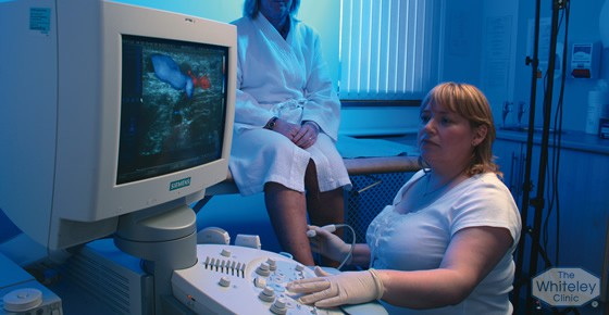 Duplex scanning varicose veins diagnosis - The Whiteley Clinic